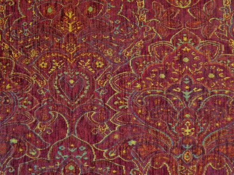 Cristina Marrone Imperiale Imp 1579 Upholstery Fabrics Uk